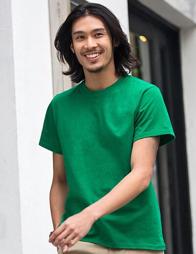 Gildan180g圆领T恤衫